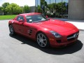 2011 Mercedes SLS AMG - left front 1/4 view